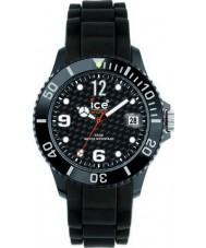 Ice-Watch SI.BK.U.S.12 Sili Forever Black Strap Watch