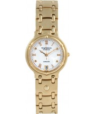 Krug Baümen 5116DM Charleston 4 Diamond White Dial Gold Strap