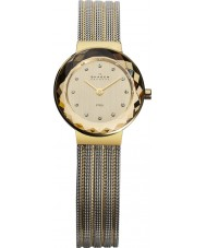 Skagen 456SGS1 Ladies Klassik Two Tone Mesh Watch