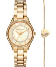 Michael Kors MK4490 Ladies Lauryn Watch and Bracelet Gift Set