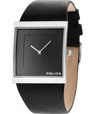 Police 14694MS-61 Mens Skyline X Black Leather Strap Watch