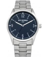 Ben Sherman WB051USM Mens Silver Steel Bracelet Watch