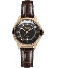 Ingersoll INQ044BKRS Ladies Brown Leather Strap Watch