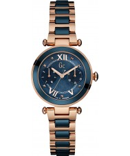 Gc Y06009L7 LadyChic Rose Gold Plated Bracelet Watch