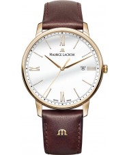 Maurice Lacroix EL1118-PVP01-112-1 Mens Eliros Brown Leather Strap Watch