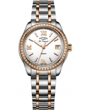 Rotary LB90175-01 Ladies Timepieces Legacy Two Tone Steel Bracelet Watch