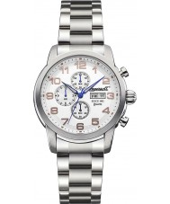Ingersoll INQ018WHSL Mens Mount White Steel Watch