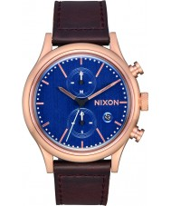 Nixon A1163-2629 Mens Station Watch