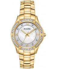 Bulova 98L256 Ladies Crystals Watch