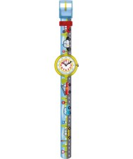 Flik Flak FBNP029 Boys Traffic Jam Multicolour Watch