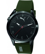Puma PU103941001 Atomic Green Silicone Strap Watch