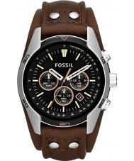 Fossil CH2891 Mens Coachman Black Brown Chronograph Watch