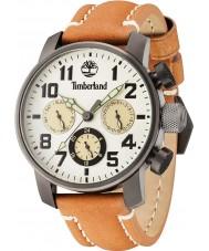 Timberland 14783JSU-14 Mens Mascoma II Brown Leather Strap Watch