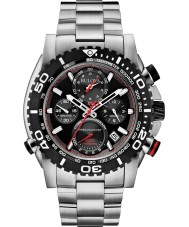 Bulova 98B212 Mens Precisionist Silver Chronograph Watch