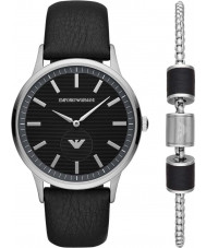 Emporio Armani AR80039 Mens Watch and Bracelet Gift Set