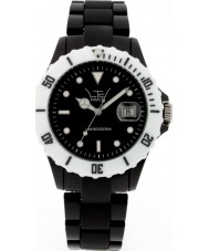 LTD Watch Limited Edition Black White Plastic Watch