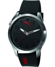 Puma PU103941002 Atomic Black Silicone Strap Watch