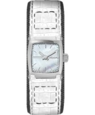 Black Dice Ladies Chameleon White Watch