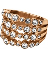 Dyrberg Kern 337070 Ladies Unica II Rose Gold Plated Cocktail Ring