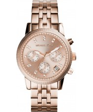 Michael Kors MK6077 Ladies Ritz Rose Gold Plated Chronograph Watch