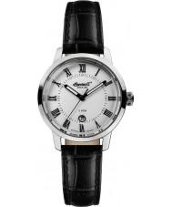 Ingersoll INQ044SLSL Ladies Black Leather Strap Watch
