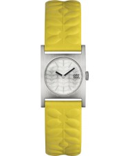 Orla Kiely OK2129 Ladies Nemo Yellow Leather Strap Watch