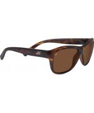 Serengeti Gabriella Shiny Dark Tortoiseshell Polarized Drivers Sunglasses