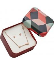 Fossil JF02814791 Ladies Jewellery Gift Set