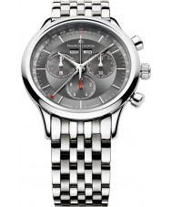 Maurice Lacroix LC1228-SS002-330 Mens Les Classiques Grey and Steel Chronograph Watch