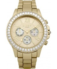 Lipsy LP380 Ladies Stone Set Multi Dial Gold Tone Watch