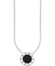 Thomas Sabo KE1492-024-11-L45v Ladies Silver Signature Classic Necklace With Onyx