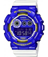 Casio GD-120CS-6ER Mens G-Shock World Time White Digital Watch