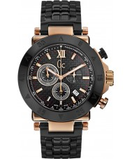 Gc X90006G2S Mens Gc-1 Sport Black Chronograph Watch