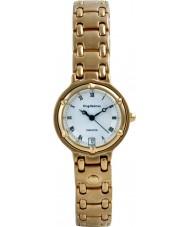 Krug-Baumen 5116KL Ladies Charleston White Gold Watch