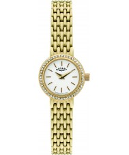 Rotary LB02835-03 Ladies Timepieces Gold Plated Watch