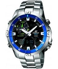 Casio EMA-100D-1A2VEF Mens Edifice Moon-Tide Graph Watch