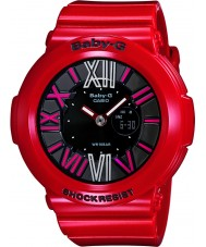 Casio Ladies Baby-G Red Resin Strap Watch