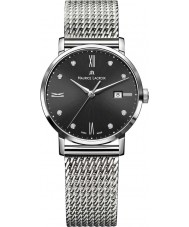 Maurice Lacroix EL1084-SS002-350-1 Ladies Eliros Silver Mesh Steel Bracelet Watch