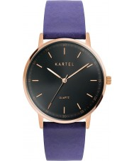 Kartel KT-HUME-RGBS Hume Royal Blue Leather Strap Watch