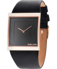 Police 14694MSR-02 Mens Skyline X Black Leather Strap Watch