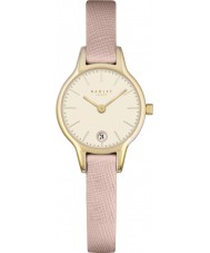 Radley RY2380 Ladies Long Acre Icing Pink Leather Strap Watch