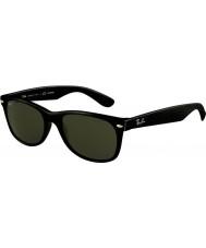 RayBan RB2132 52 New Wayfarer Black 901-58 Polarized Sunglasses
