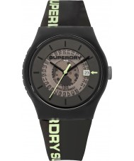 Superdry SYG168B Mens Urban Semi Opaque Watch