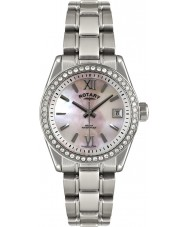 Rotary LB02660-07 Ladies Timepieces Havana Silver Watch