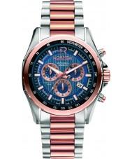 Roamer 220837-49-45-20 Mens Rockshell Chronograph Two Tone Steel Bracelet Watch