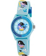 Peppa Pig PP002 Boys Time Teacher Watch with Blue Silicone Strap