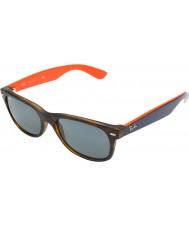 RayBan RB2132 52 New Wayfarer Matte Tortoiseshell 6180R5 Sunglasses