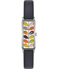 Orla Kiely OK2131 Ladies Stem Navy Leather Strap Watch