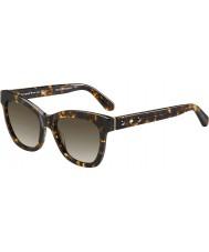 Kate Spade New York Ladies Krissy-S Z61 HA Havana Sunglasses