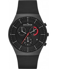 Skagen SKW6075 Mens Aktiv Black Chronograph Watch